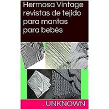 Hermosa Vintage revistas de tejido para mantas para bebés