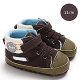 DRAULIC Babyschuhe Mid-tube Schuhe Baby Boy Soft-Soled rutschfeste Kleinkindschuhe Neu 0-1 - Jahr