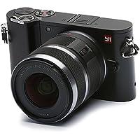 YI Fotocamera Mirrorless Fotocamera Digitale Compatta Obiettivo Intercambiabile 4k Camera Mirrorless Digitale con Lente Intercambiabile 12-40 mm F3.5-5.6, 20 Megapixel (Nero)
