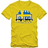 Schweden WM 2018#7 T-Shirt | Fußball | Herren | Trikot | Blågult | Nationalmannschaft, Farbe:Gelb (Lemon L190);Größe:S