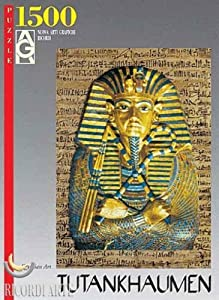 Editions Ricordi 2901N14456G  - De Oro Arte Egipcio TUTANKHAMON Puzzle 1500 Piezas del Rompecabezas