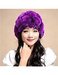Wuyulunbi@ Un sombrero de Lady's Hat,violeta