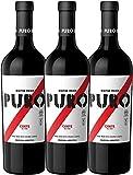3er Paket - Puro Corte 2017 - Dieter Meier   trockener Rotwein   argentinischer Biowein aus Mendoza   3 x 0,75 Liter