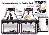 Homecooking Tablier Recette carte par Eileen Mikolayunas