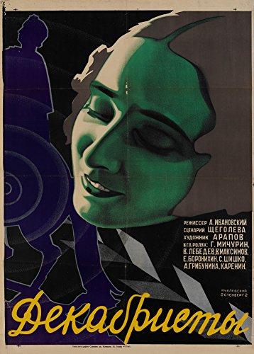 World of Art Kunstdruck/Poster, russischer Konstruktivismus, Vintage-Stil, Motiv 'The Decembrists'...