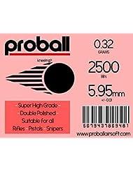Proball 0.32g 2500 bolas airsoft