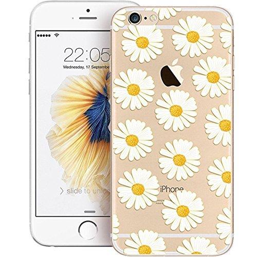 "iPhone 6S TPU Hülle,iPhone 6S Handytasche HandyHülle, BoomTeck Silikon Hülle Transparent Schutzhülle für 4.7"" Apple iPhone 6S/iPhone 6 Slim Weiche Unsichtbare Gel-Skizze Stoßfest Gummi Schützende Crys 01"