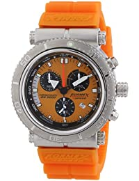 Formex 4 Speed DS2000 - Reloj para caballero de silicona naranja