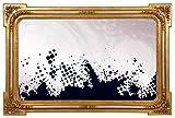 Wandspiegel Luxus - Handgefertigt 100% | Gold - Stil Barock | Rokkoko | Klassische | Massivholz