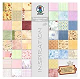 Ursus 70800099 - Scrapbook Paper Block Edition 1, ca. 30,5 x 30,5 cm, 44 Blatt Sortiert in 44 Motiven