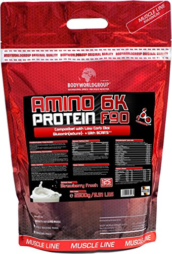 bwg-amino-6k-protein-f90-muscle-line-strawberry-1er-pack-1-x-25-kg