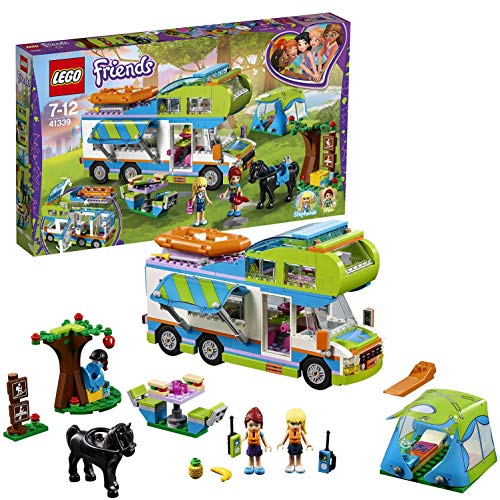 LEGO- Friends Il Camper Van di Mia, Multicolore, 41339