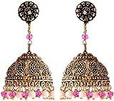 Ganapathy-Gems-Brass-Jhumki-Earrings-for-Women-(9913)