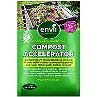 Envii Compost Accelerator - Trattamento Batterico Che Accelera il Processo di Compostaggio Organico, Favorendo la Decomposizione - 12 Pastiglie