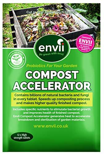 Envii Compost Accelerator - Bio Kompostbeschleuniger - 12 Tabletten
