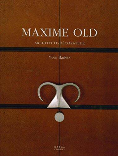 Maxime Old : Architecte-dcorateur