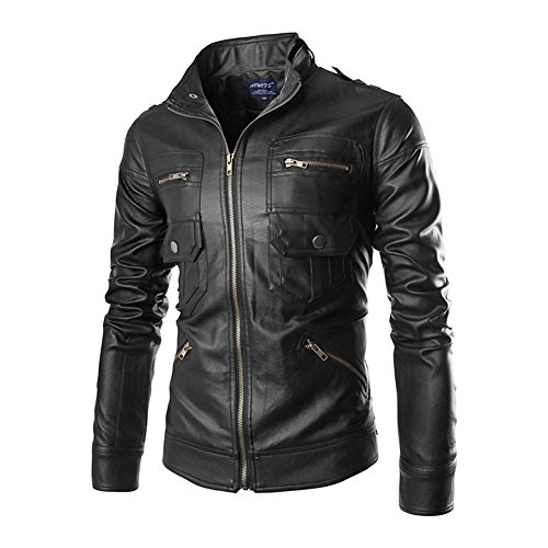new-mens-spring-summer-fashion-long-sleeve-pu-leather-slim-biker-stand-cut-collar-jacket-coat-outerw