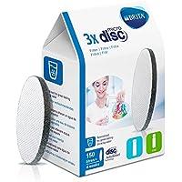 Brita Disque Filtrant pour Bouteille, Microdisc - Pack 3