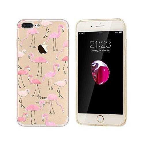 iphone 7 Plus Funda,iPhone NNIUK 7 Plus flamenco linda de los animales...