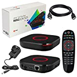 MAG 324 Original Infomir & HB-DIGITAL IPTV SET TOP BOX Multimedia Player Internet