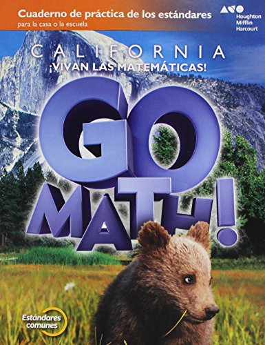 Go Math! Spanish: Standards Practice Book Grade 2
