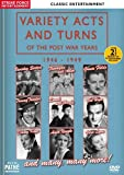 Variety Acts and Turns of the Post War Years 1946-1949 [DVD]
