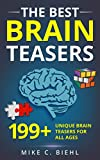 #9: Brain Teasers: The Best 199+ Unique Brain Teasers For All Ages (Riddles, Puzzles, Ciphers, Logic and Brain teasers)