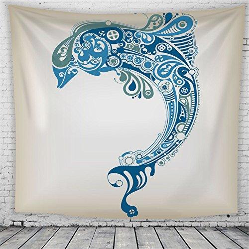 HmDco Geometrische abstrakte Tapeten gedruckt hängenden Tuch, 2#, 200*150cm.