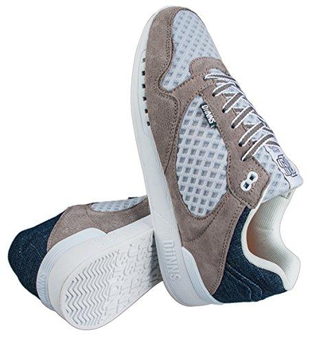 Djinns Shoes Easyrun Mesh Denim Gris