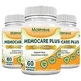 Morpheme Memocare Plus 60 Veg Caps - 3 B...