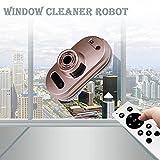 Robot aspirateur Auto clean anti-chute smart fenêtre cleaner nettoyant pour vitres meilleur cadeau pour Noël (Rose)