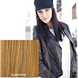 """Milano Collection Hat Wig 100% Premium Human Hair 19"""" Long Straight Style Blonde #NOMI"""