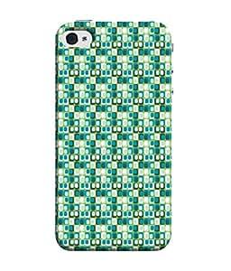 99Sublimation Designer Back Case Cover for Apple iPhone 4S (Modal Ornament Paragons Precursors Stereotypes)