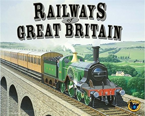 Eagle-Gryphon Games EAG01413 - Railways of Great Britain Board Game