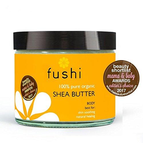 Fushi Organic Virgin Shea Butter 250g, RAW Unrefined Ghanaian