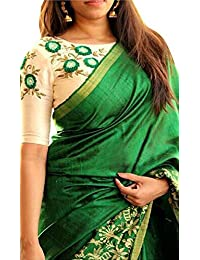 Sarees New Collection Latest Of 2017 Green By FabDiamond-(Saree Centre Sarees For Women Party Wear Offer Designer...