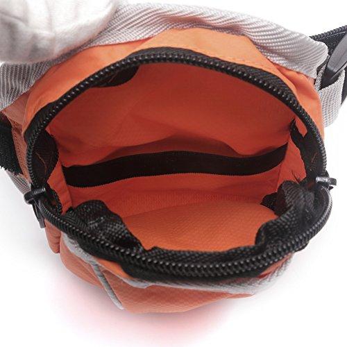 Donne e Uomini Sport all'aria aperta Ciclismo in esecuzione Mobile borsa da polso Borse da braccio Portafogli Sport all'aria aperta Bracciale traspirante per iphone 6 / 6s / 5 / 5s Arancia