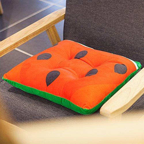 Baozengry Die Schöne Frucht Computer Im Büro Stuhl Kissen Kissen Für Automobile, 40 X 40 Cm (Stärke 7 Cm), Wassermelone (Computer Im Klassenzimmer)