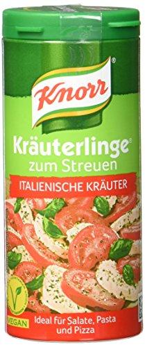 Knorr Kräuterlinge Italienische Kräuter Streuer, 4er-Pack (4 x 60 g)