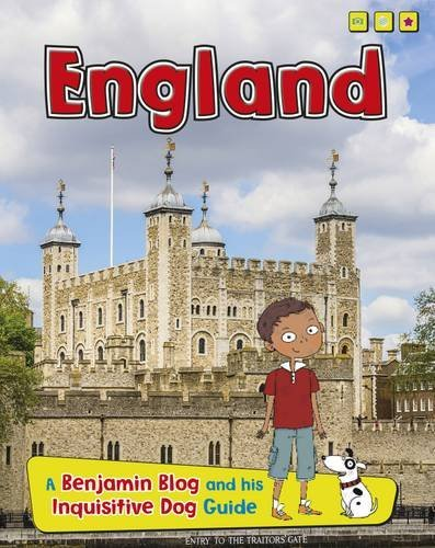 Portada del libro England: A Benjamin Blog and His Inquisitive Dog Guide (Country Guides, with Benjamin Blog and his Inquisitive Dog) by Anita Ganeri (2015-03-12)