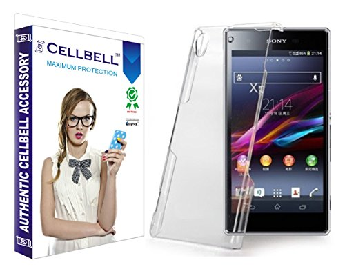 Cellbell Ultra Thin 0.3mm Clear Transparent Flexible Soft TPU Slim Back Case Cover For Sony Xperia Z1  available at amazon for Rs.169