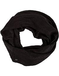 Tom Tailor Denim Damen Schal schwarz schwarz