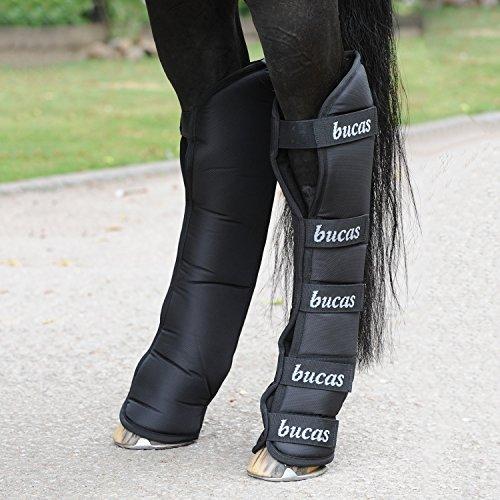 Bucas 2000 Boots, Transportgamaschen, Warmblut, Schwarz/Schwarz