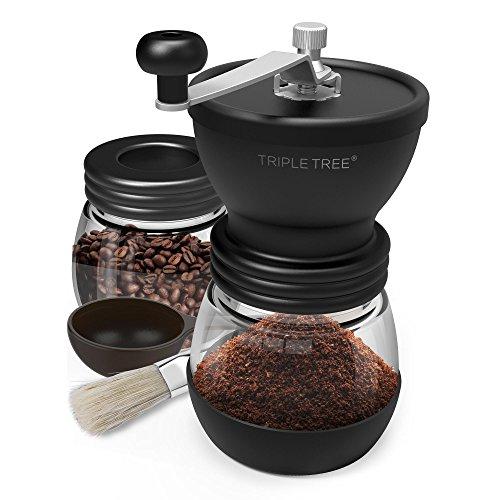 Moulin à café manuel, moulin à café manuel portable...