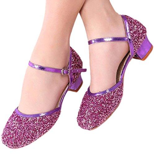 Mädchen Stöckelschuhe Prinzessin Schuhe Kinder Latein Schuhe mit Weiche Sohlen 26-41
