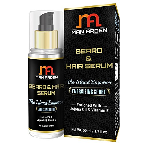 Man Arden Energizing Sport Hair and Beard Serum - 50 ml (Island Emperor)