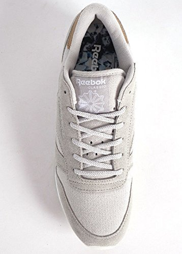 Reebok Classic Leather Damen Sneaker Grau gable grey/white