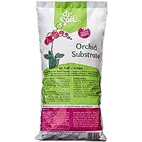 Dr.Soil Tierra Premium para orquídeas en bolsa de 1L, hecho de corteza de pino español de alta calidad y fertilizado naturalmente con Biohumus con liberación prolongada