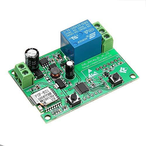 ILS - LC-EWL-1R-D80 WiFi Remote-Relay-Modul Mobil APP-Fernbedienung