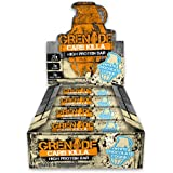 Grenade Carb Killa High Protein and Low Carb Bar, 12 x 60 g - White Chocolate Cookie